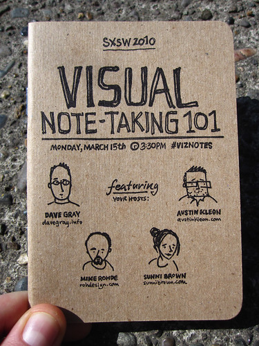 Scout Books for Visual Notetaking at SXSW | by scoutbooks