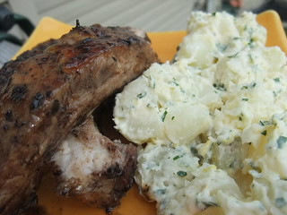 Sweet Tea Glazed Ribs and Lemony Potato Salad | by swampkitty