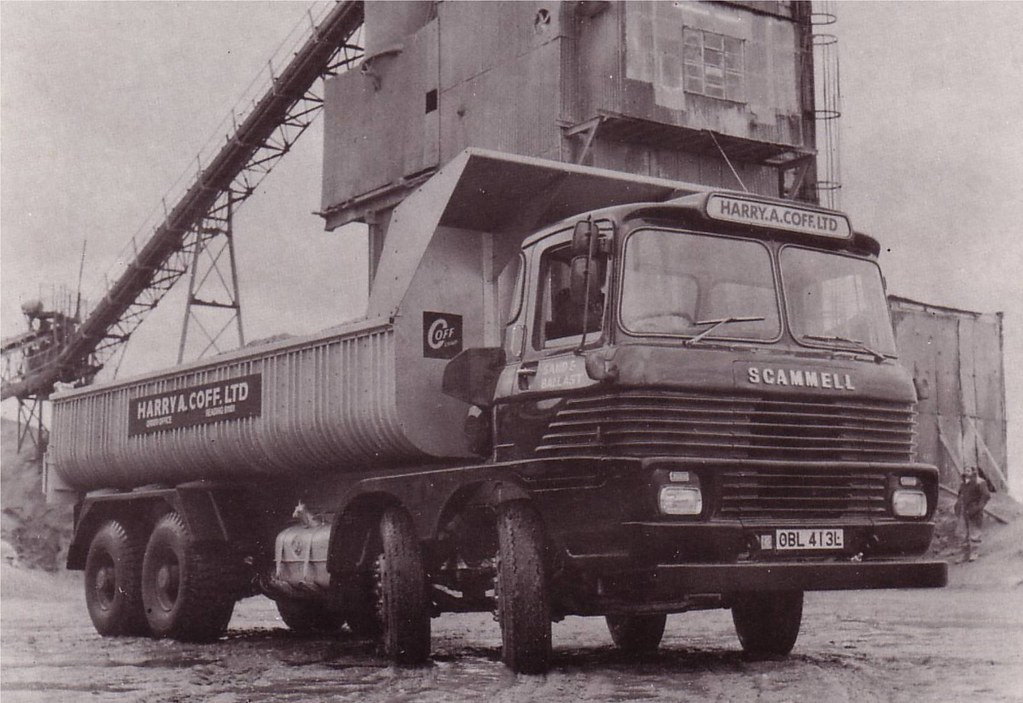 Scammell Routeman 3 Taken From The Sales Brochure Dated