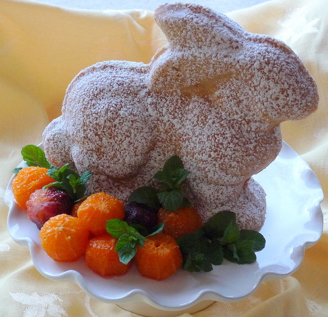 Easter Rabbit Cake Recipe