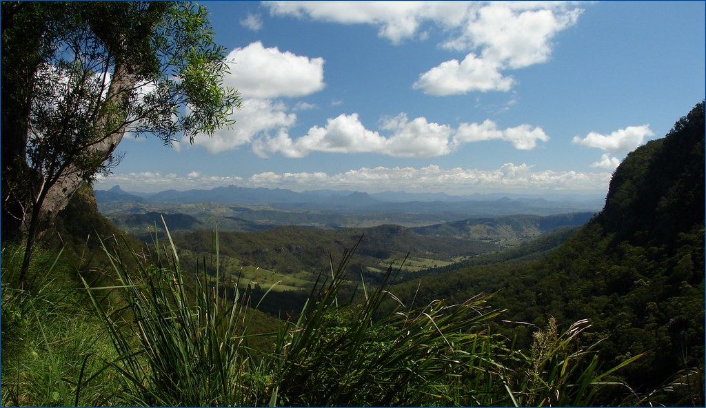 Moran S Falls Lookout Lamington National Park Queensland