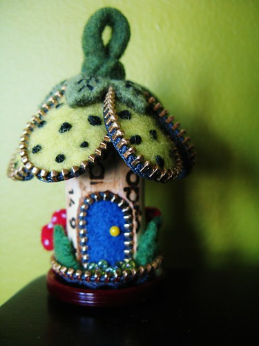 A wee little flower house | by woolly  fabulous