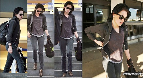 Kristen Stewart at lax | by editha.VAMPIRE GIRL<333