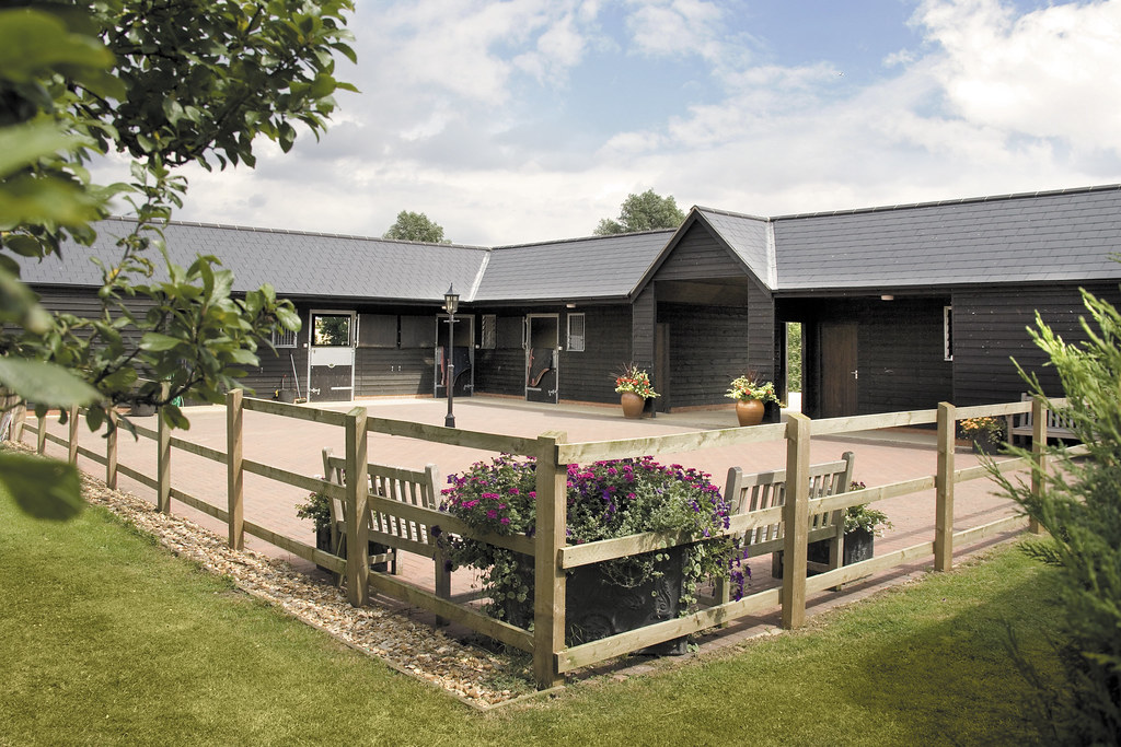 Yard Designs For Horses: Bespoke Timber Stables From