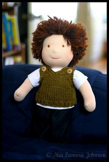 S's doll's sweater vest | by *mia*