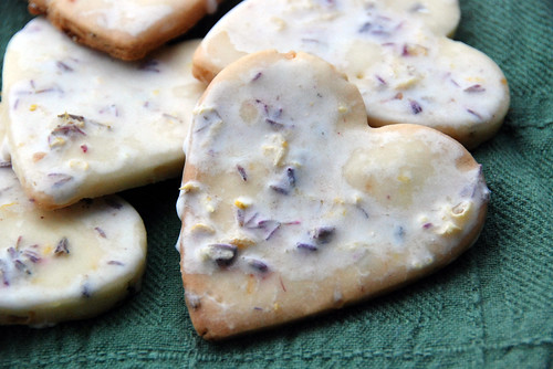 Iced Lavendar Lemon Cookies | by kimberley blue
