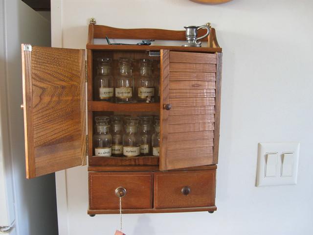 Kitchen Cabinet Spice Rack System