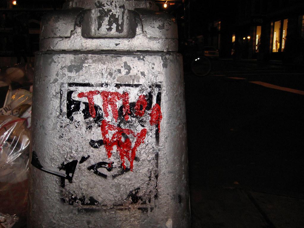Lamp Post Graffiti Andre The Giant 1506 Lamp Post Base