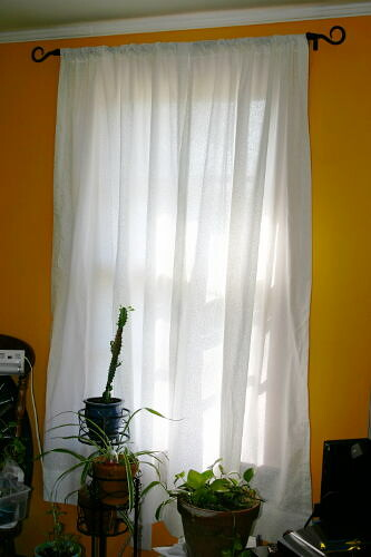 Homemade Curtains Small Window
