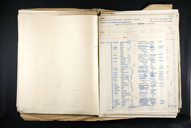 Uk Incoming Passenger Lists 1938 William A C Heyman Flickr Photo Sharing