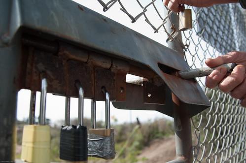More Multiple Padlock Farm Gate Mechanism Multi Lock Gat