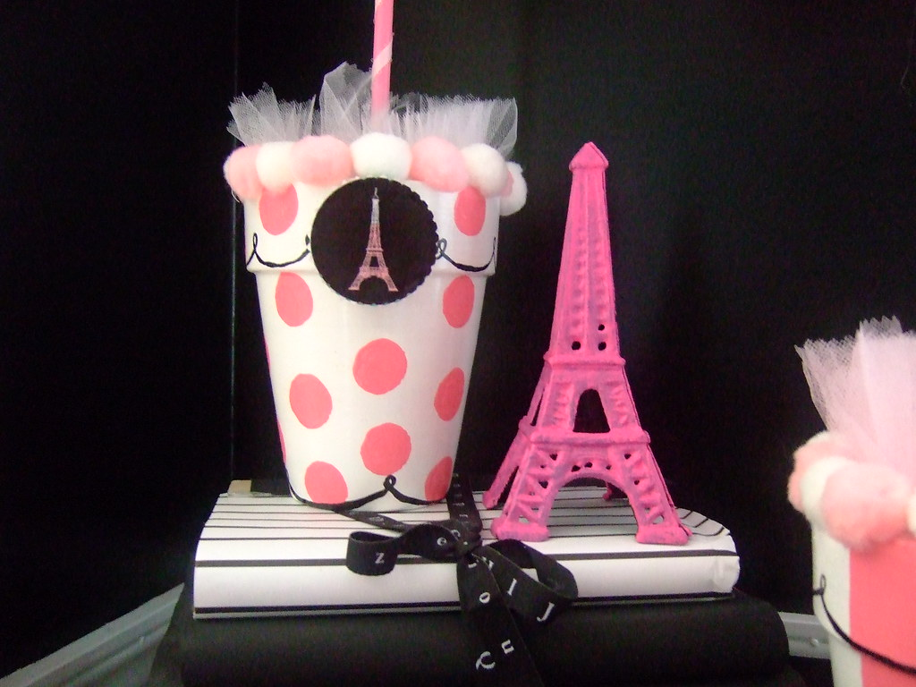 Google themes pink and black -  French Theme Frou Frou Trees By Beaurabbit