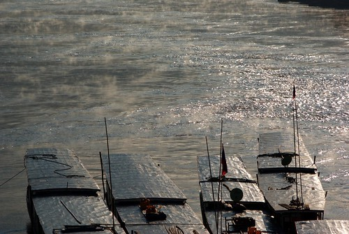 Mekong River Boats | by The Hungry Cyclist
