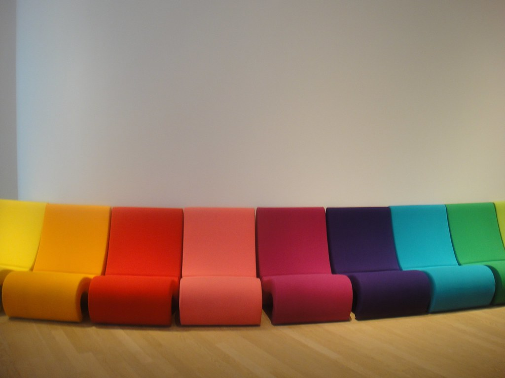 rainbow chairs amoebe from verner panton vitra flickr. Black Bedroom Furniture Sets. Home Design Ideas