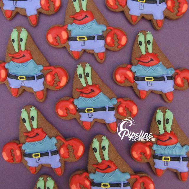 Spongebob - Mr  Krab | For a chocolate loving birthday boy  … | Flickr