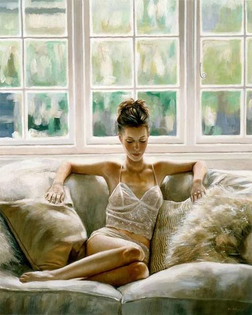 Beautiful Women In Oil Paintings 4  Lallpower -3480