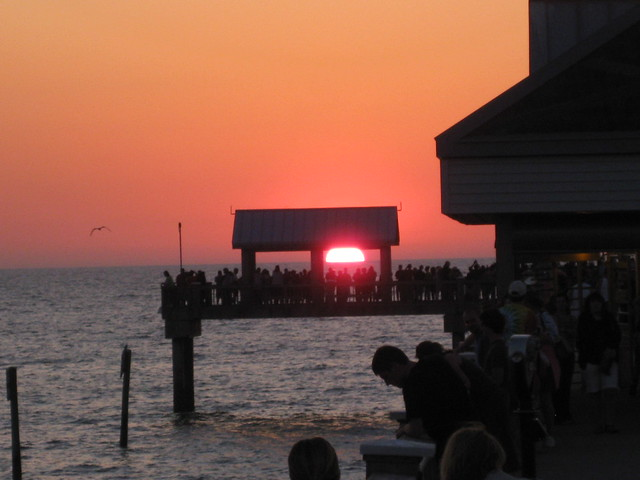Sunset At Clearwater Beach Pier 60 4 3 10 Flickr