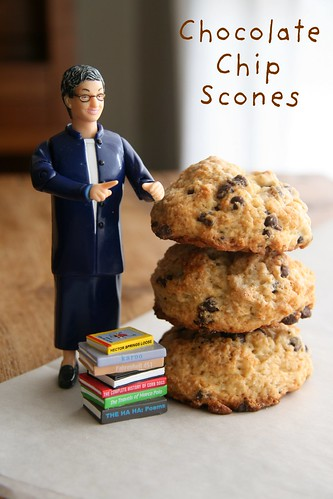 Chocolate Chip Scones | by Food Librarian
