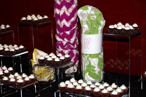 Allison Heyden Runway Show Cupcake Display | by The Couture Cakery