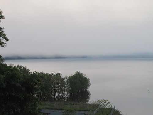 the moment before the fog erased the lake | by Kathryn Cramer