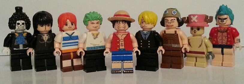 One Piece Chopper New World Lego Custom Minifigs O...