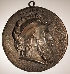 Columbus Medal by Kato obverse