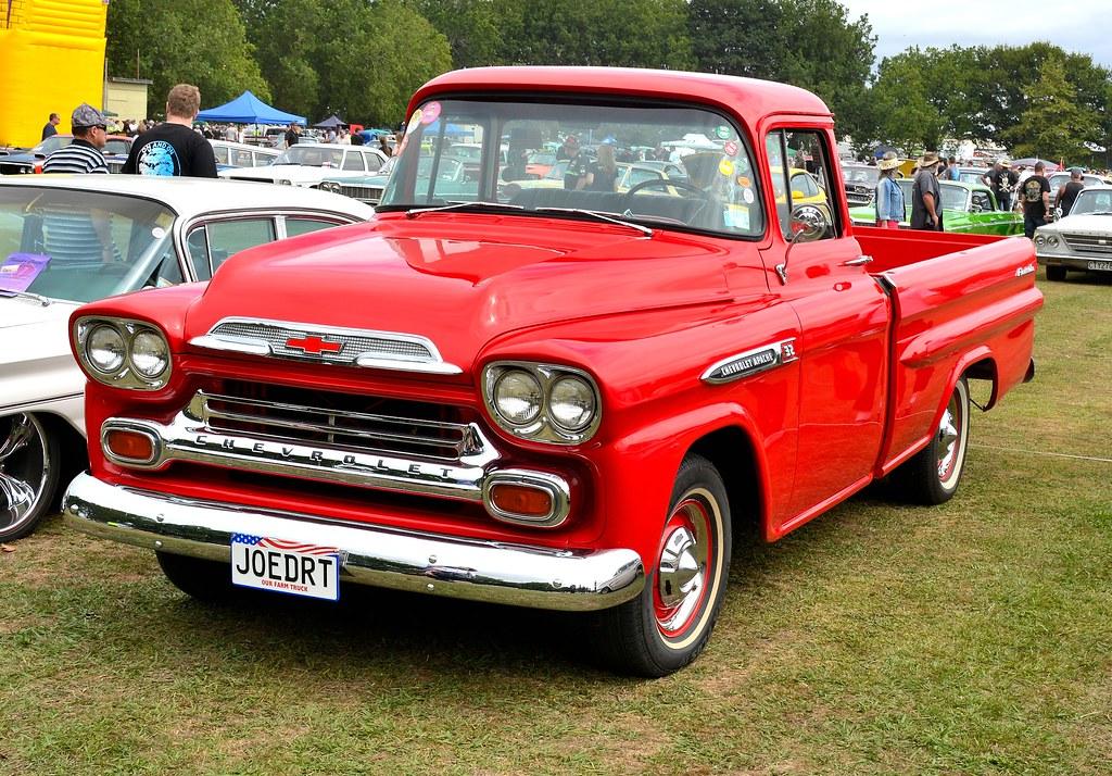 1959 Chevrolet Apache At Morrinsville 2017new Zealand Flickr