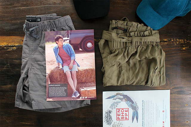 Penshoppe UP Town Center Duane Bacon Blogger Mens Wear Shorts Summer