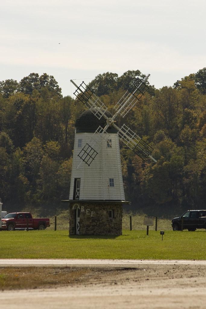 Bob Evans 4 Windmill From The Bob Evans Farm Taken