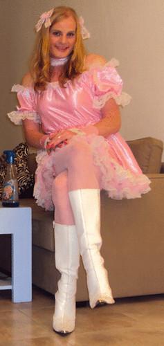 Criada Sentada Sitting Sissy Maid Felicia Colette Flickr