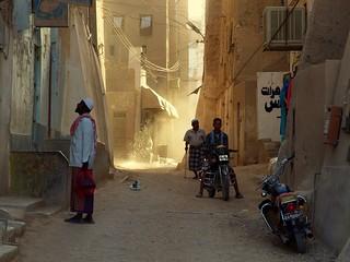 A Passing Moment ~ Shibam, Yemen Yemen
