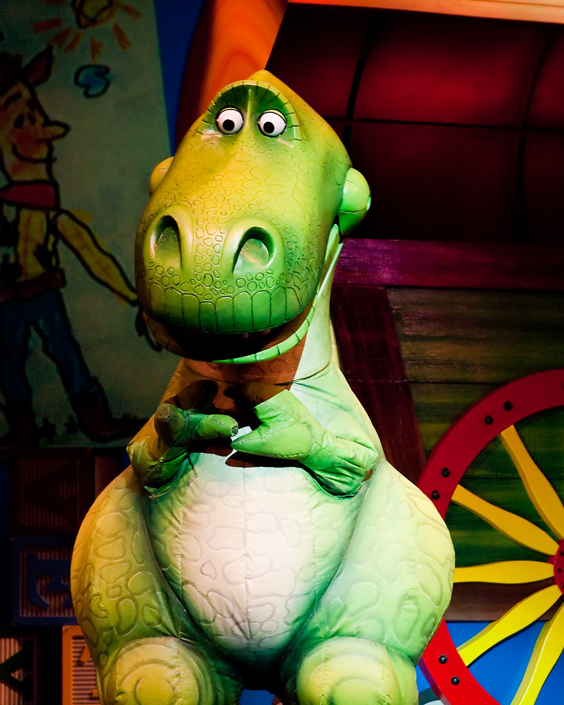 Toy Story The Musical : Toy story musical rex a scene from quot the