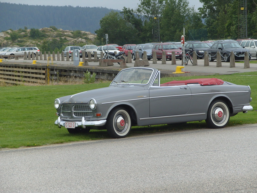 volvo amazon convertible at the vrom classic car run pina flickr. Black Bedroom Furniture Sets. Home Design Ideas
