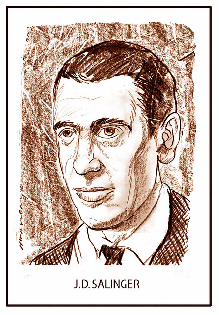 (J)EROME   (D)AVID   SALINGER     ( American Writer)  1919- Jan. 27th, 2010