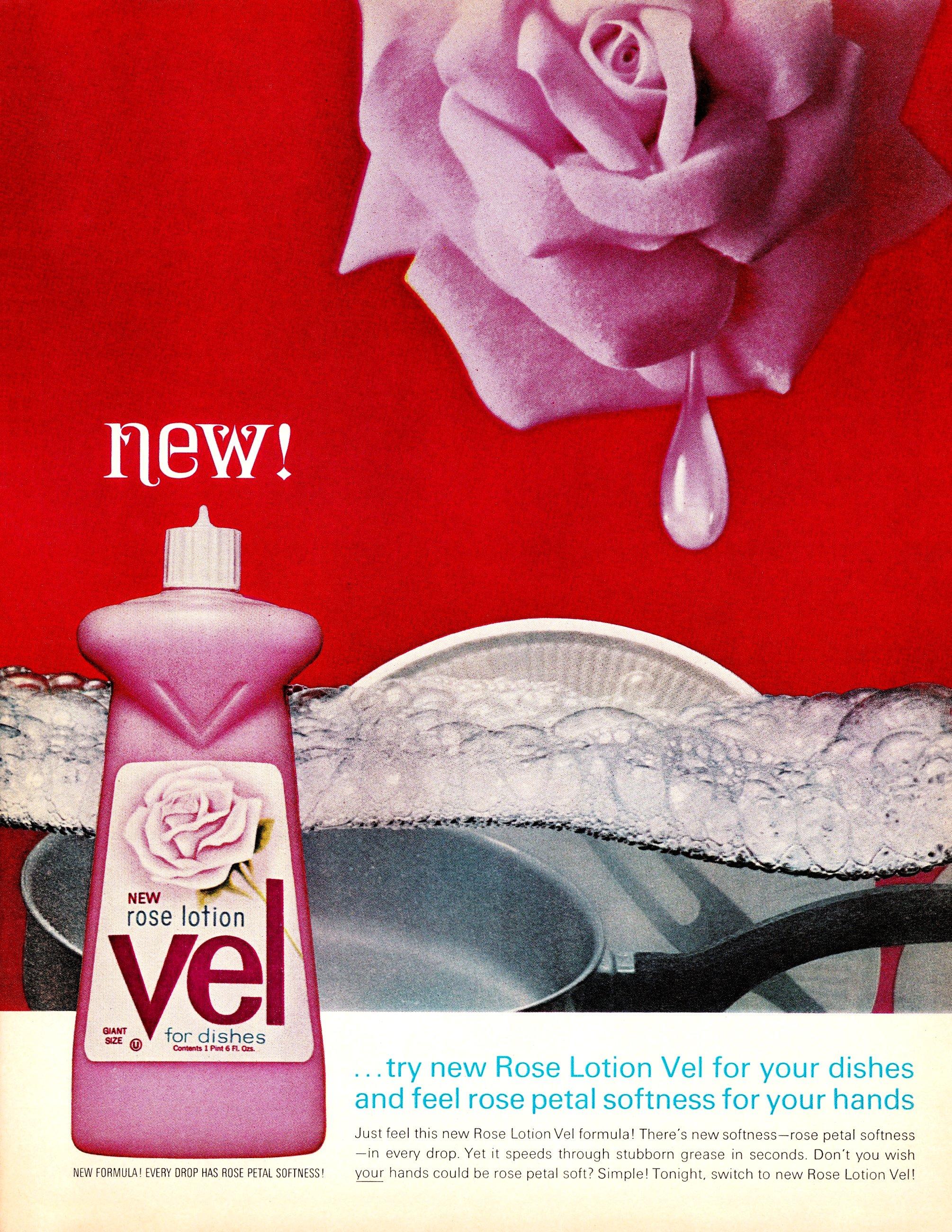 Vel - published in Look - November 17, 1964