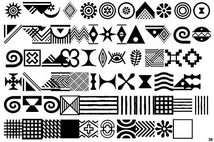 African tribal motifs | Robert and Talbot Trudeau | Flickr