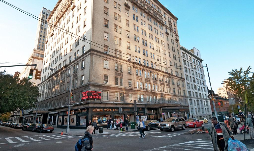 Hotel St George Built 1885 1930 51 Clark Street Brook