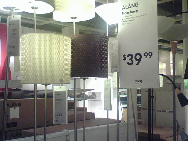 Ikea alang floor lamp love these lampshades on the new ala flickr ikea alang floor lamp by girl reading aloadofball Choice Image