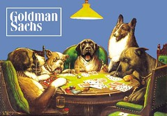 Dogs Dealing Unregulated Securities at Goldman Sachs, after  C. M. Coolidge | by Mike Licht, NotionsCapital.com
