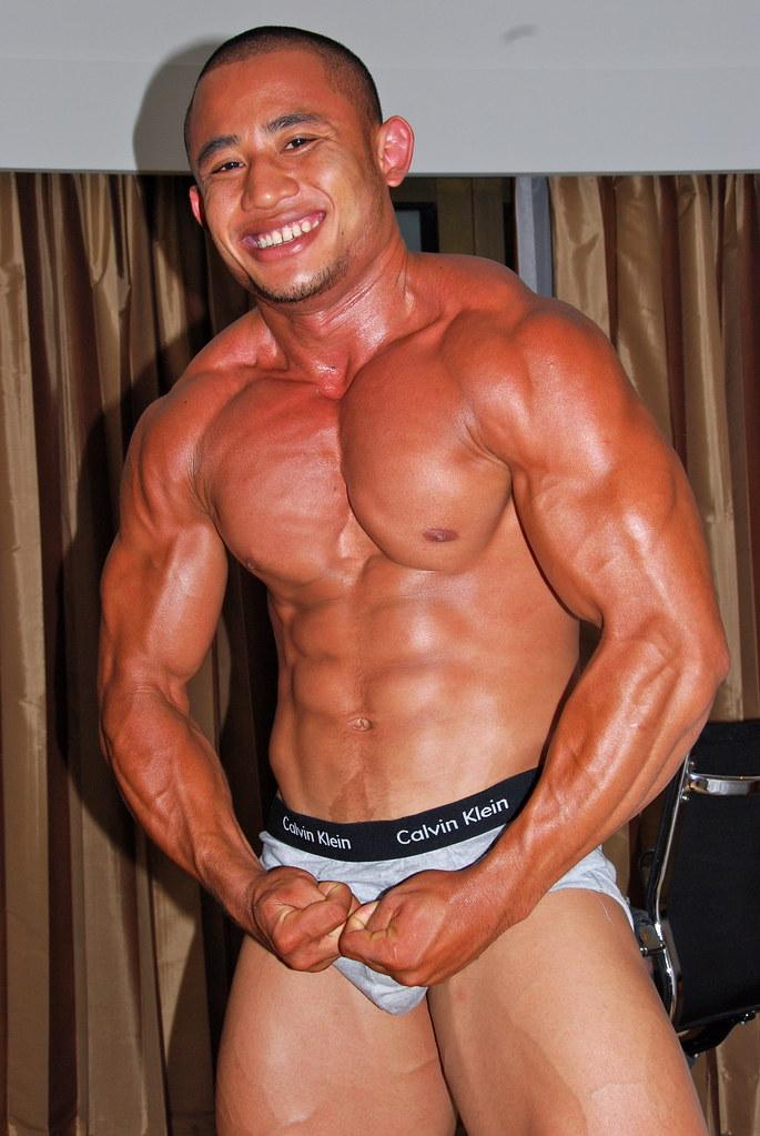 DSC_6104 | Tawan Bar Bodybuilder Bangkok Muscle | run26