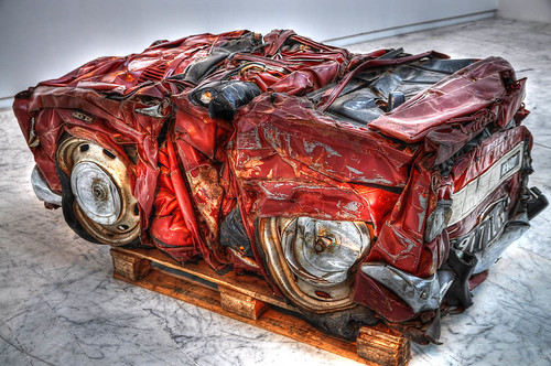 Compressed Car | by marcovdz