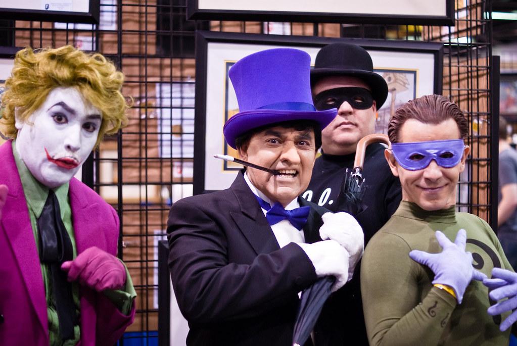 Joker, The Penguin, Goon, Riddler | Anaheim Comic Con 2010 ...