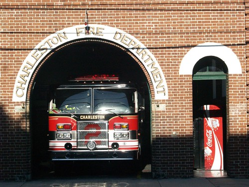 one of Charleston's firehouses
