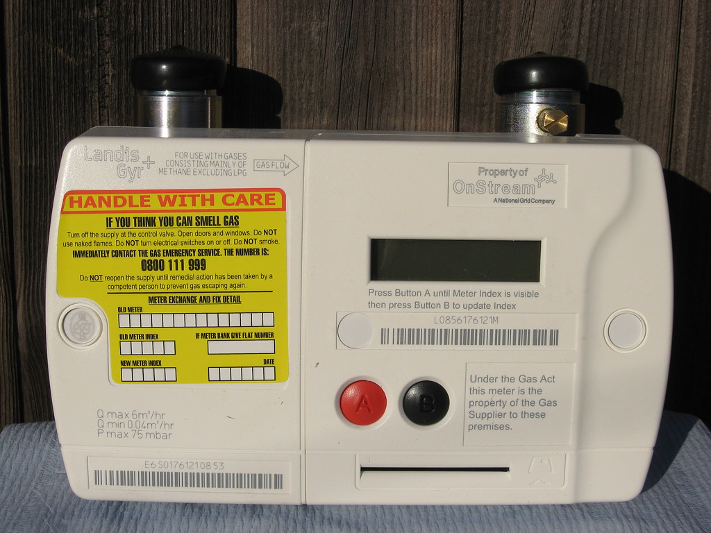landis gyr gas meter instructions