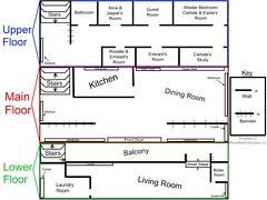 Cullens House Floor Plan Images
