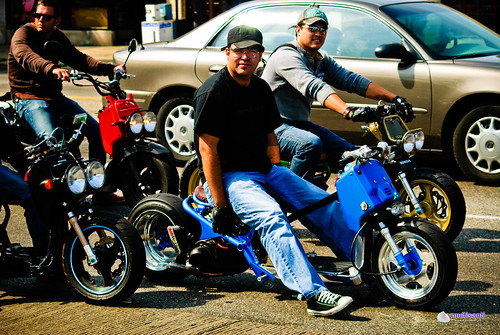 ¿Scooter tuning? | Bad boys on what seem to be some kind ...