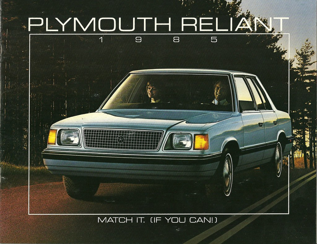... Plymouth Reliant 1985 | by Hugo-90