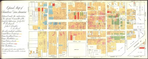 Official Map of Chinatown in San Francisco (1885) | by Eric Fischer