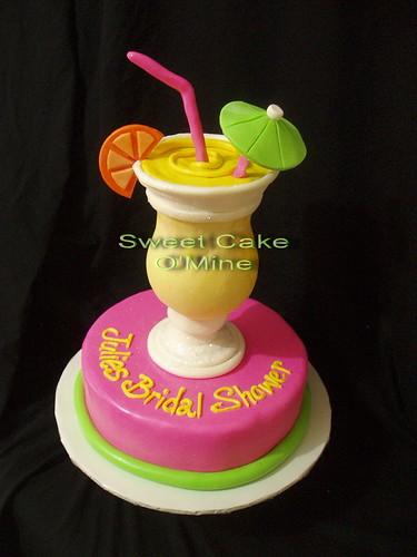 Cocktail Bridal Shower Cake Quot Sweet Cake O Mine