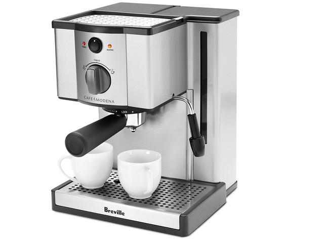 Breville Coffee Maker Usa : Cafe Modena Espresso Machine ESP6SXL Breville USA Flickr